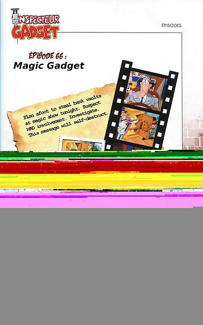 Inspector Gadget Artbook - part 8
