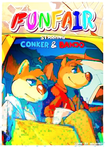 FUNFAIR- starring Conker & Banjo - part 2