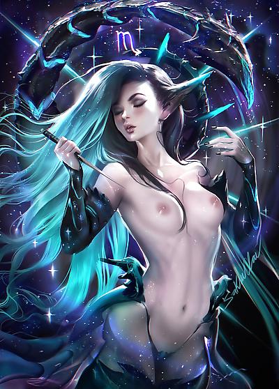 Sakimichans Nude works - part 6
