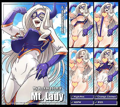 Camie- Midnight & Mt. Lady Sets