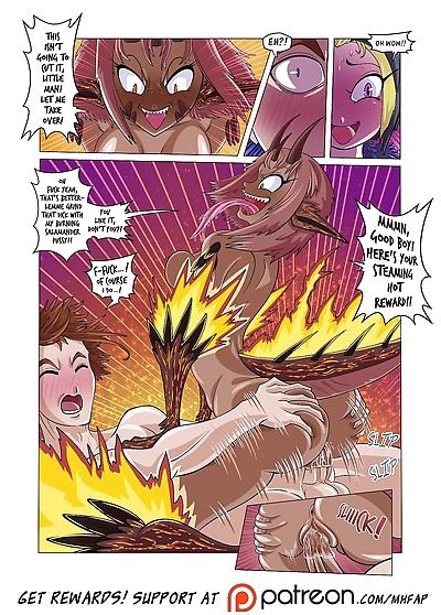 Monster Harem Feverish Absolute Passion! Ch. 1-2 - part 2