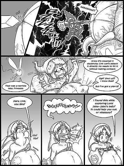 Ocarina of Vore Ch. 1-5 - part 3