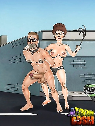 Unlucky toon dom gets trampled by slavegirl - part 2582