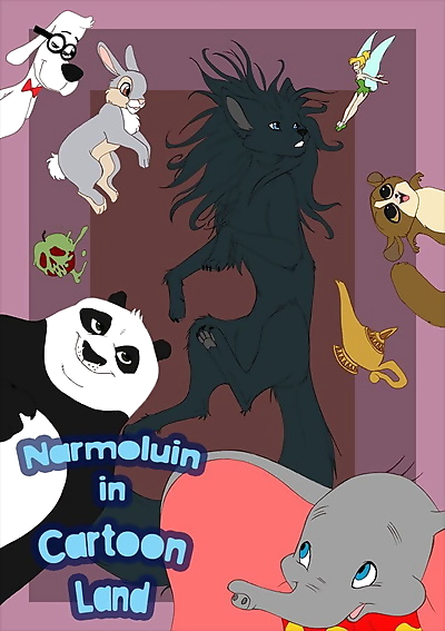 Narmoluin in Cartoonland