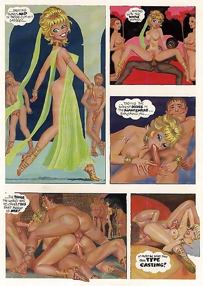 Raunchy porn comix with group fuck - part 70