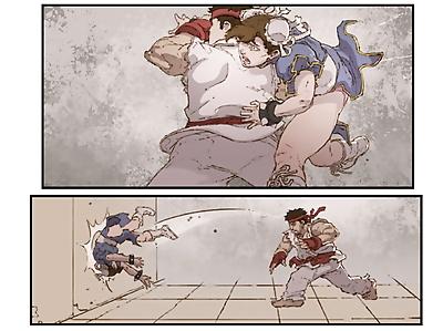 Chun Li X Ryu - part 2