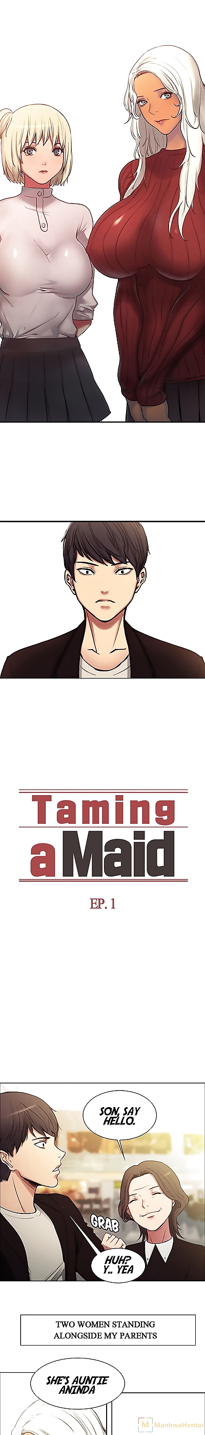 Serious Taming a Maid/Domesticate the Housekeeper Chapter 1 English